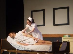 """As Nurse Kay Sadler in """"Whose Life is it Anyway?"""""""